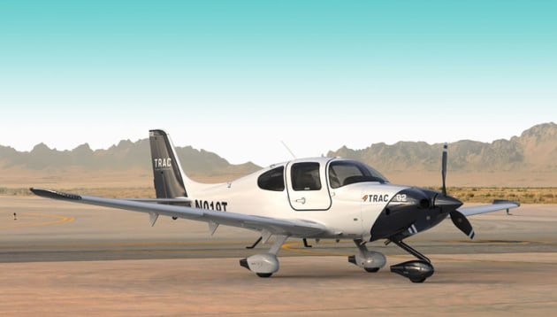 The Cirrus TRAC range is aimed squarely at training organisations. (Cirrus Aircraft)