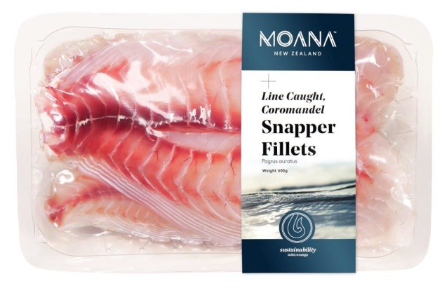 PIDA 2019 Finalist, Save Food Packaging Design: Plantic Technologies for the Plantic RV material that was designed for Moana seafood company to be able to supply fresh fish to the online meal delivery company 'My Food Bag'.