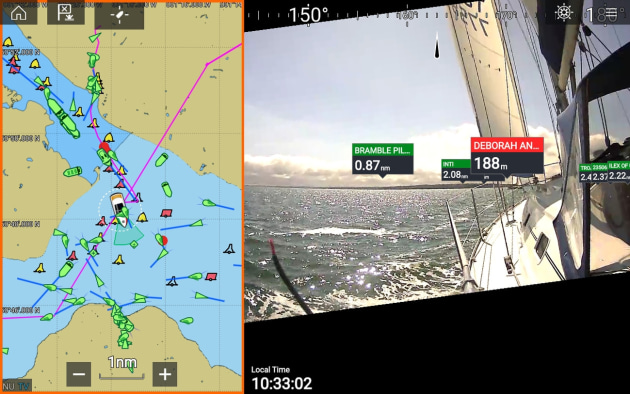 ClearCruise AR helps is designed to help captains make smarter and faster navigation decisions.