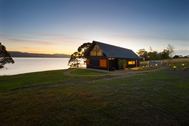 Coast House, Huon Valley.