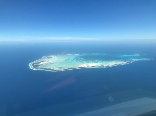 The M-55A Peregrines will fly from the Cocos (Keeling) islands.