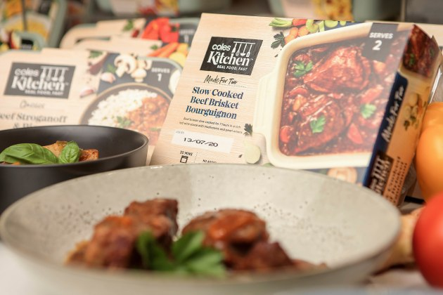 Coles has expanded its Coles Kitchen range to more than 100 options.