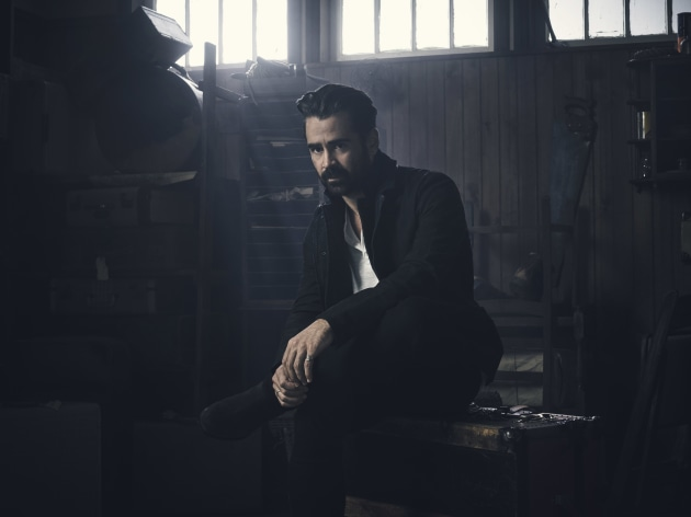 Colin Farrell for Fantastic Beasts and Where to Find Them/Warner Bros. © Jason Bell.