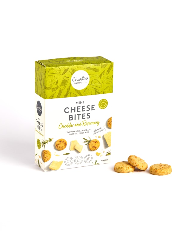 Charlie's Fine Food Co. has released its latest range - Mini Cheese Bites. Made with 20 per cent Australian cheese, the range is at home on a platter or in a lunchbox.