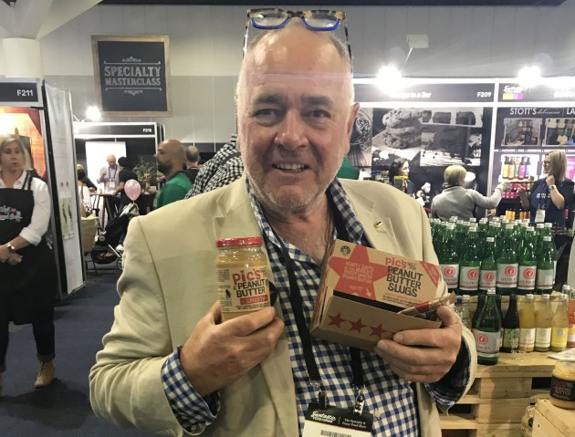 Company Founder Pic Picot at Naturally Good Food Expo in Sydney.