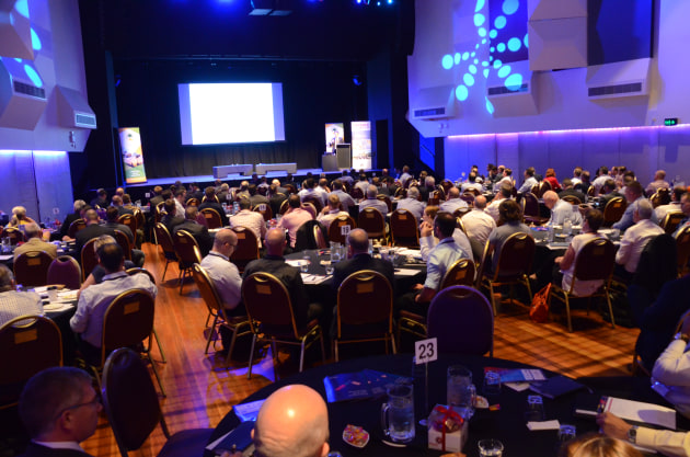 More than 70 per cent of attendees were from SMEs. (David Jones)