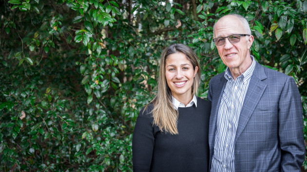 Hayley Blieden and Ralph Wollner, The Australian Superfood Co. Photo: Megann Evans
