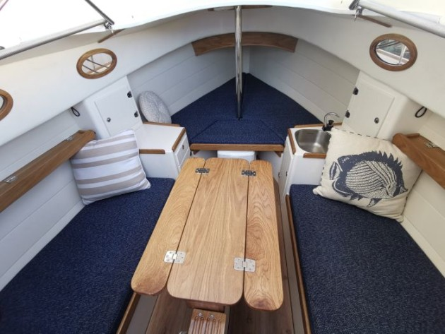 Cygnet 20 trailer sailer from Bluewater Cruising Yachts