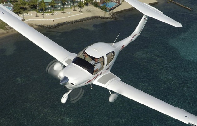 Diamond's DA-40 four-seat single. (Diamond Aircraft)