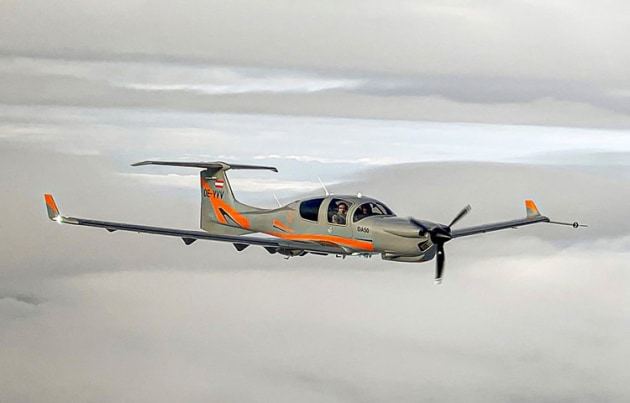 Diamond's DA50 with CD300 engine and retractable wheels. (Diamond Aircraft)