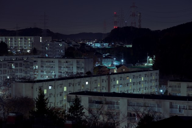 Hirao Danchi. A complex in a 'sleeper town' on the outskirts of Tokyo. © Cody Ellingham.