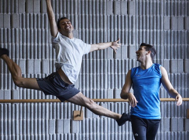 Dancers rehearsing for Opera Australia's West Side Story. Photo: KEITH SAUNDERS