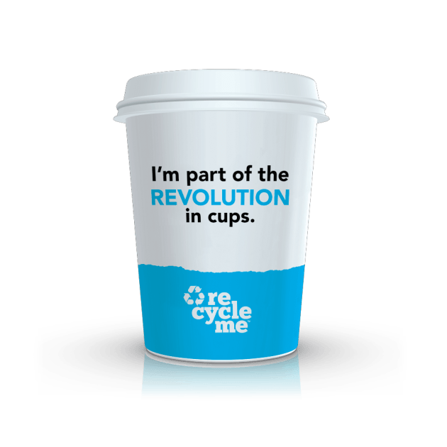 The new RecycleMe cup by Detpak.