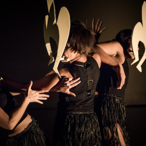 FRAGMENTS OF MALUNGOKA - Women of the Sea by Ghenoa Gela. Photo: Gregory Lorenzutti for Dancehouse.