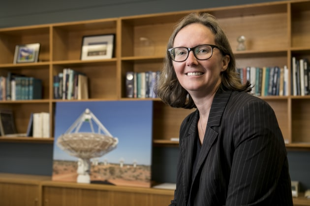Dr Sarah Pearce, Deputy Director CSIRO Astronomy and Space Science. 