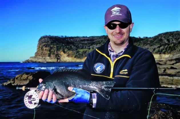 Targeting drummer on fly is one of the more challenging aspects of this fishery.