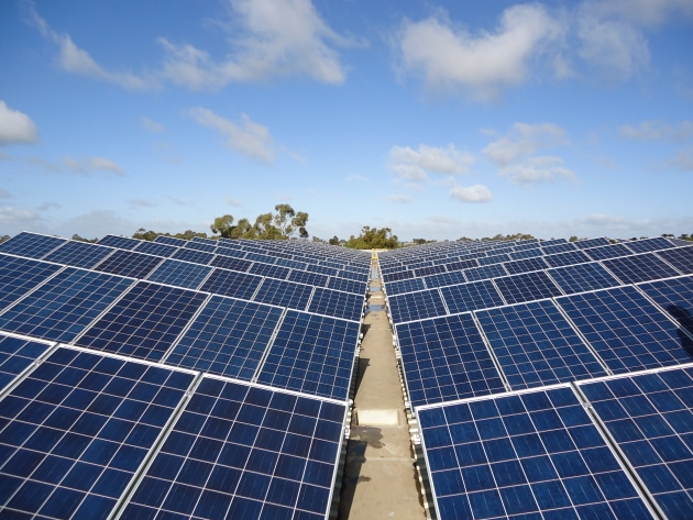 Foodmach's Echuca site has 400 solar panels on its roof.