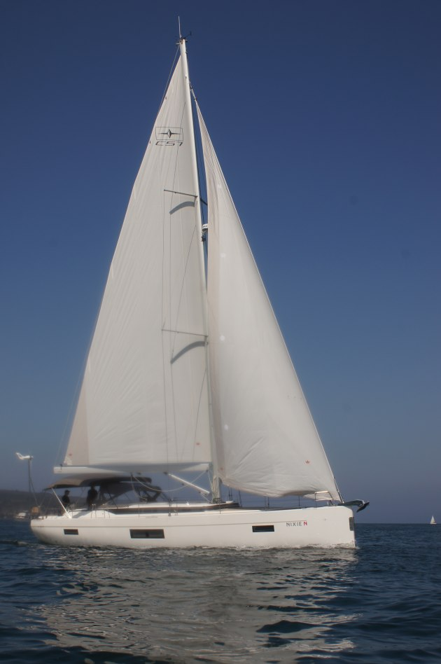 The Bavaria C57, a review of which will appear in the January issue of Cruising Helmsman.