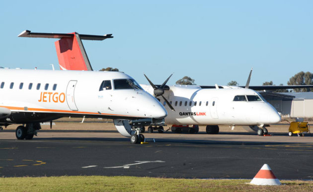 Some of Australia's busiest regional airports like Dubbo have been left out of funding allocations in Tuesday's budget. (Steve Hitchen)