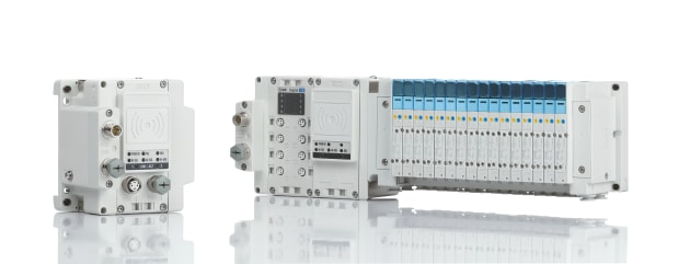 SMC's EX600-W wireless fieldbus system.