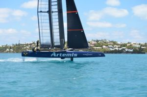Artemis AC45 Turbo in Bermuda. Photo David Tyler/Artemis Racing.