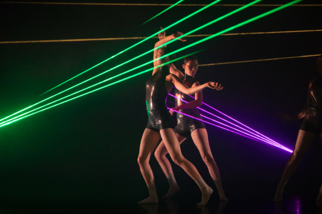 'Neural Dust', choreographed by Steph Hutchison. Photo: Fiona Cullen.