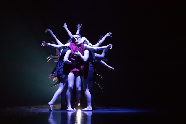 'The Visceral Tides', choreographed by Lina Limosani. Photo: Fiona Cullen.