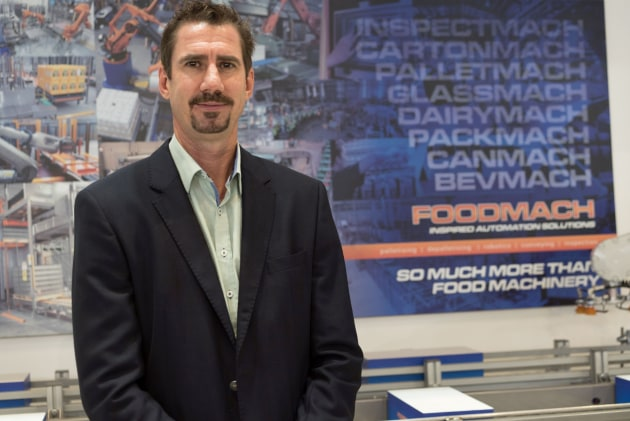Earle Roberts, CEO, Foodmach.