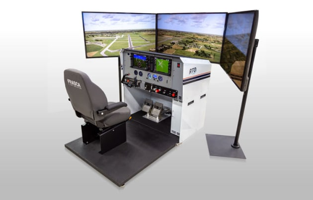 Frasca's Reconfigurable Training Device (RTD) has CASA approval as a Category B synthetic trainer. (Fracsa)
