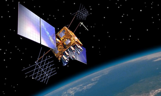 A GPS Block IIR(M) satellite. The US has previously withheld access to the system.