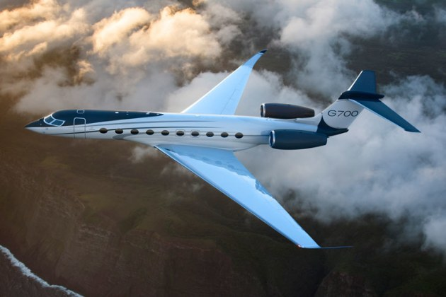 Gulfstream plans for the G700 to take over as the company flagship. (Gulfstream)