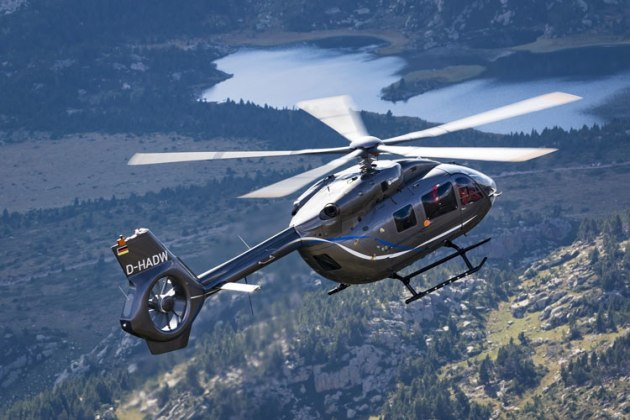Airbus Helicopters' five-bladed H145. (Airbus Helicopters)