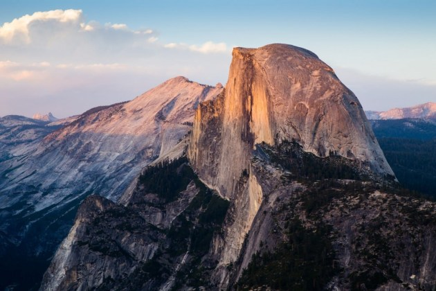 Half Dome walk, Yosemite NP.