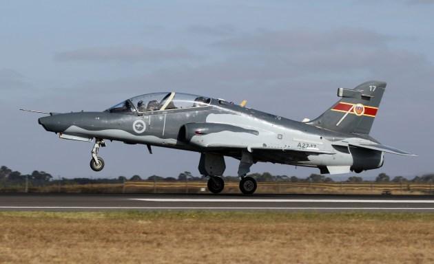 The Australian jets retain the original aircraft's ability to employ live weapons. Credit: Nigel Pittaway