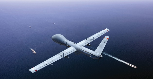 The Hermes 900 is a long-range unmanned maritime surveillance system tailored for littoral and blue water operations.
