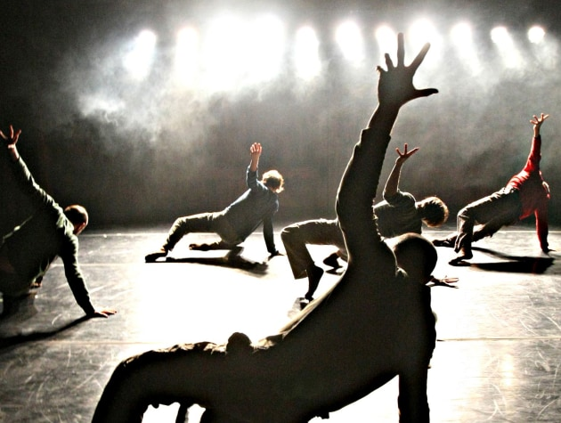 A scene from 'In the Yard', choreographed by Hofesh Shechter. Photo: Ben Ruddick.