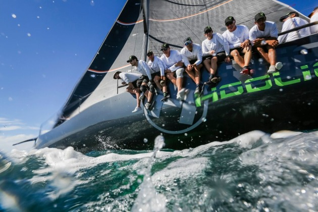 Sail Port Stephens Puts On A Show For Hicko Mysailing