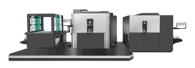 Industry leading: the HP Indigo 20000 digital press supplied in ANZ by Currie Group.