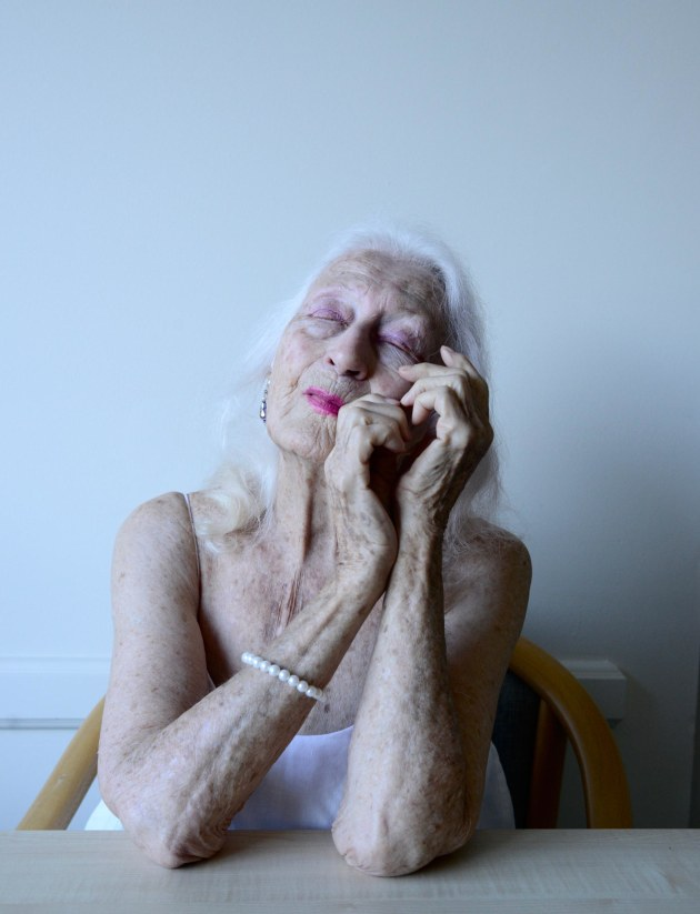 © Hugh Stewart. National Portrait Photographic Prize 2020 - Highly Commended. Eileen Kramer is a dancer, 2019. She moved back to Australia from New York when she was 98 because she wanted to hear a kookaburra. She is 105 this year.