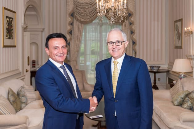 Astra Zeneca announced the latest investment in London at a meeting between AstraZeneca chief executive officer Pascal Soriot and the Hon. Malcolm Turnbull during his visit to the UK.