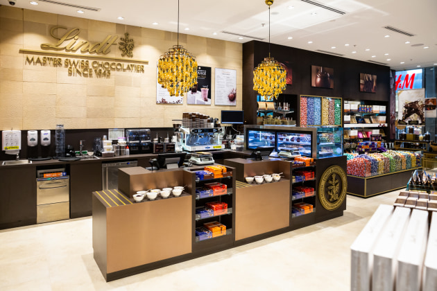 lindt unwraps another chocolate boutique