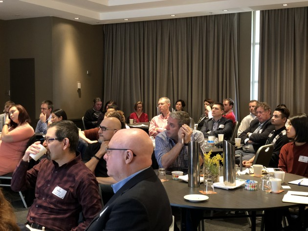 A crowd of over 50 AIP members gathered in NSW to attend the panel discussion.