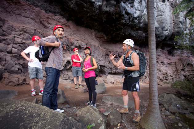 Mt Gower Guide, Dean Hiscox talks about the geology of the island.