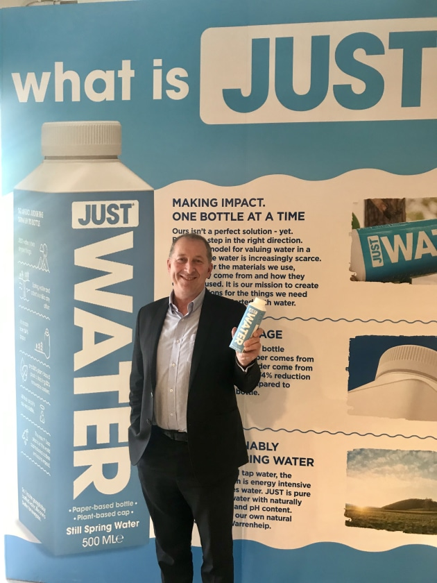 JUST launched: Andrew Pooch, MD Tetra Pak Oceania