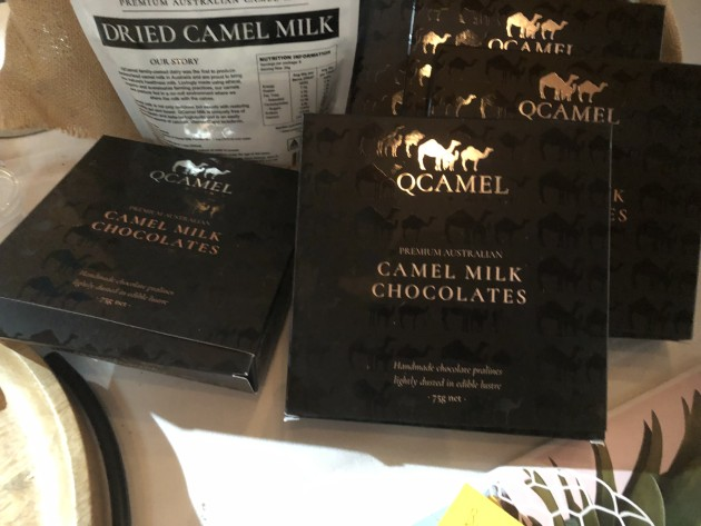 New camel chocolate from Qcamel