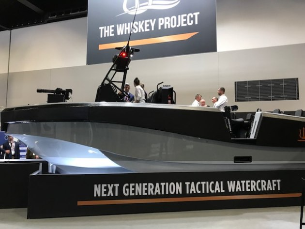 The Whiskey Alpha on show at Pacific 2019.