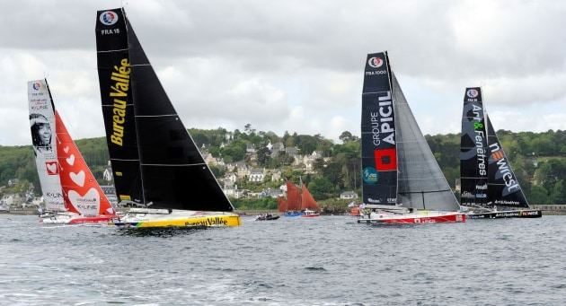 Eighteen IMOCA's will race - Franois-Van-Malleghem-pic