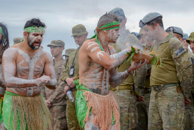 Australian warrior culture dates back thousands of years.