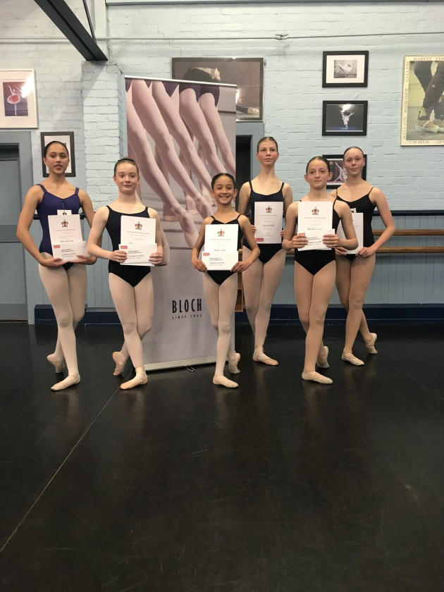 Intermediate Foundation winners (from left): Indra Gurudoss, Dakota van de Elzen, Ramita Coldrey, Alexandra Keddie, Samantha Grimsey and Ava Clearyl