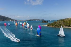 Islands race start from Dent Passage. Photo credit Andrea Francolini.